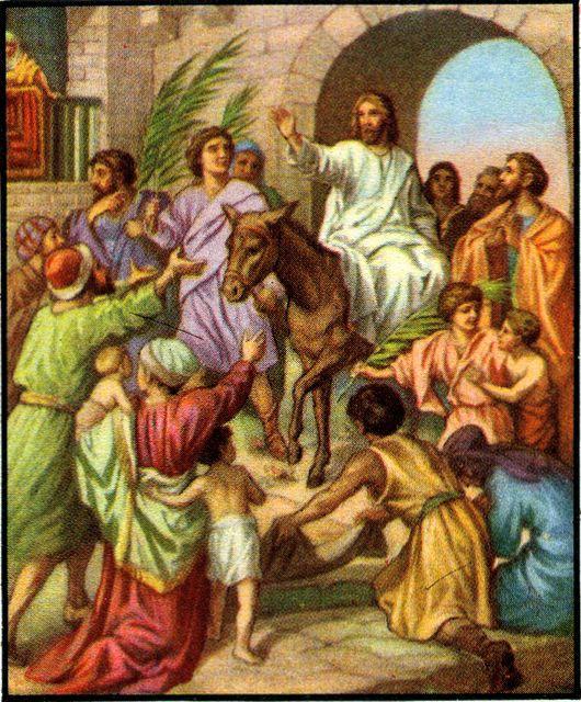 Jesus Entetres Jerusalem Essay