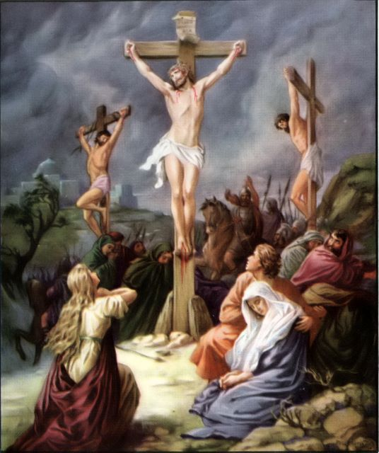 """the crucifixion story of christ """"many in history have argued that jesus did not  in which jesus survives the  crucifixion."""
