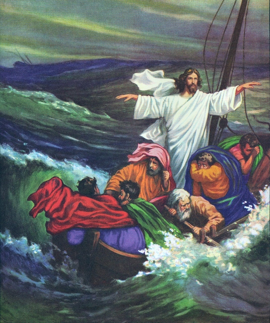 Jesus Calms the Storm - Bible Story Verses & Meaning
