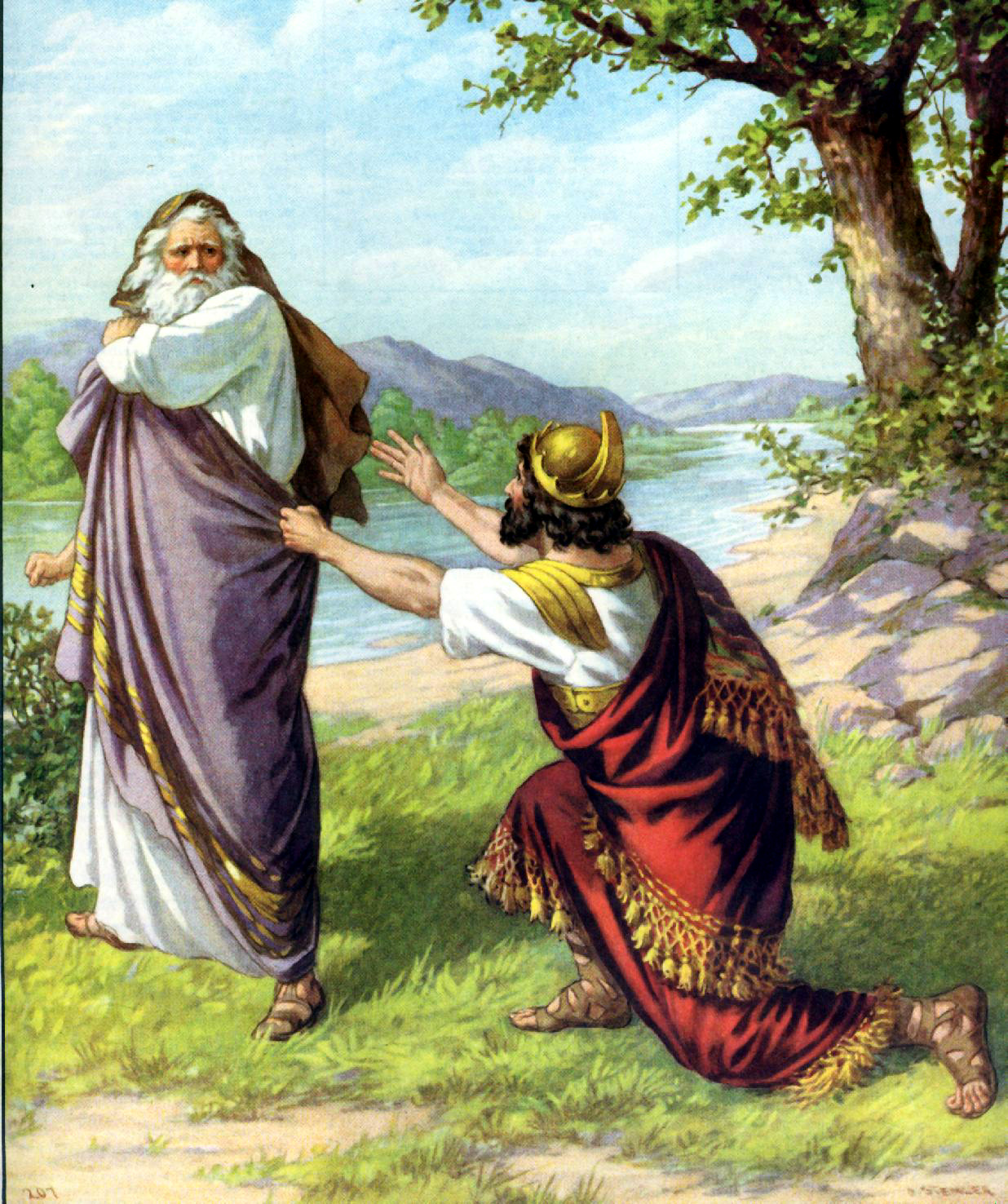 Saul S Disobedience Great Stories Of The Holy Bible Lord