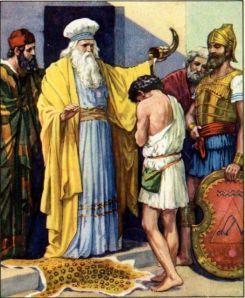 Samuel Anoints David I Samuel 16:13