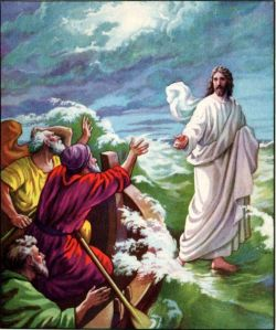 Jesus Walking on the Water Matthew 14:26-29