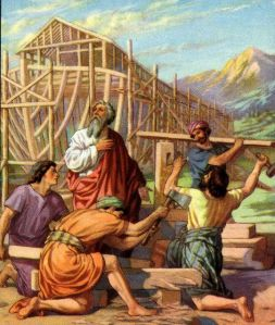 Noah and His Sons Build the Ark Genesis 6:14-16
